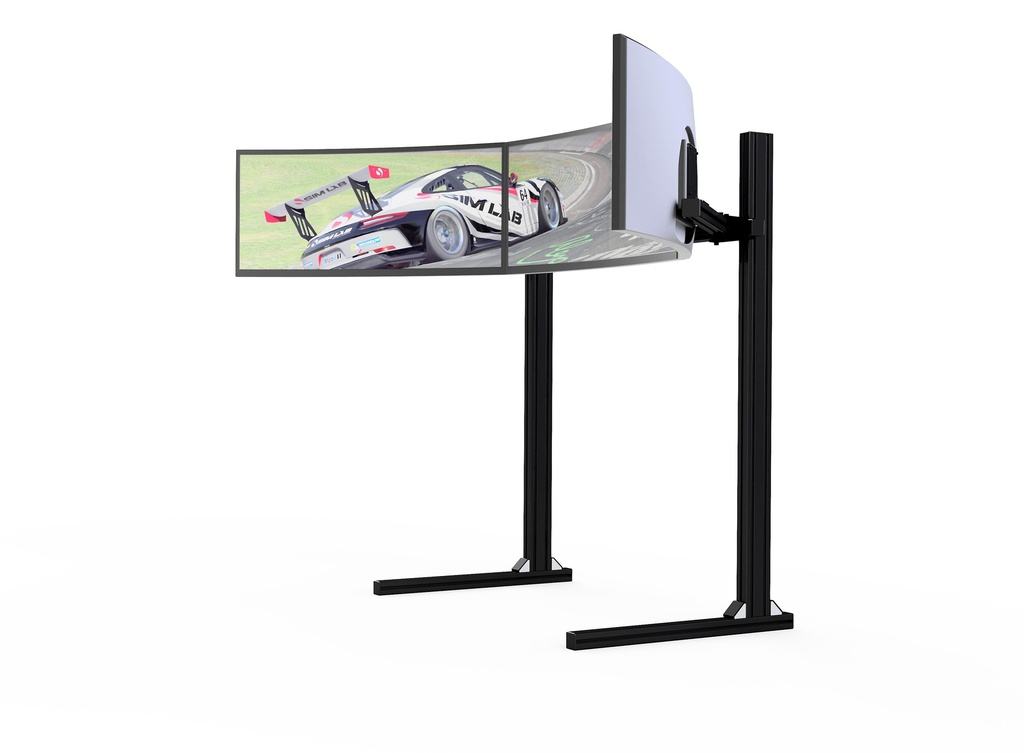 Triple monitor mount (19″ – 42″) VESA