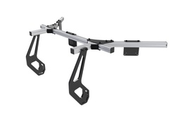 Integrated monitor mount (Silver, Triple screen)