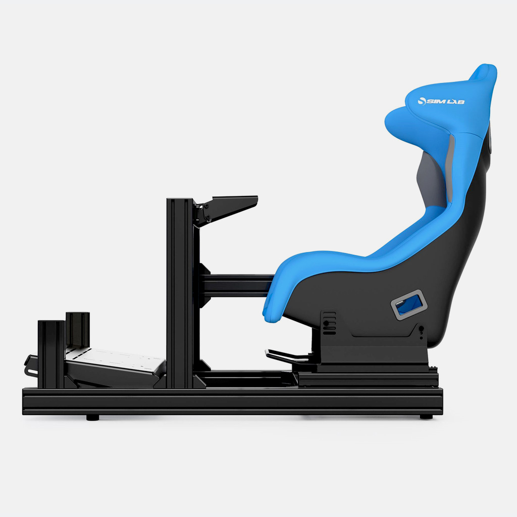 GT1-EVO sim racing cockpit Black
