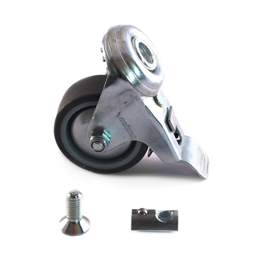Caster wheels set